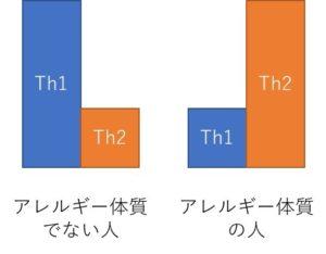 Th1 Th2 300x234 - アレルギーの基礎知識